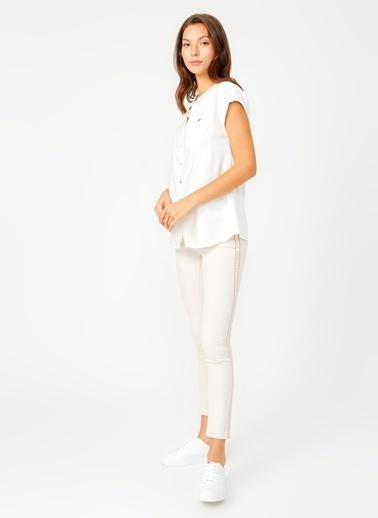 U.S. Polo Assn. Pantolon Beyaz